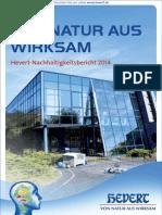Hevert-Nachhaltigkeitsbericht 2014