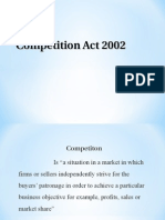 Competition Act Ppt 1