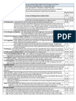 neuro exam detailed skill sheet