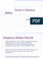 Serviço Social e Ditadura Militar