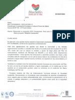 Respuesta a Propuesta UPRCampesinas, Area para la Producción Agrícola y Macro Proyecto Medellin Campesino