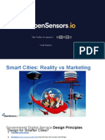 Open cities, open sensors