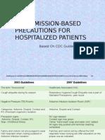 Transmission Based Precautions MRSA SLM