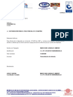 Carta Autorizacion Retiro Cesantias2011