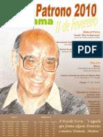 cartaz do dia do patrono 2010