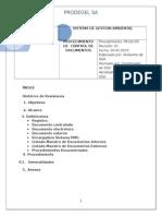 Procedimiento de Control de Documentos