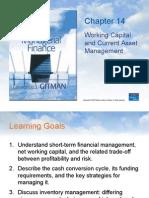 Gitman-working Capital & Current Asset