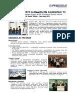 Informasi MM Wijawiyata Manajemen 73 PPM2