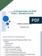 Terapia Ocupacional en UCIP