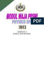 MODUL 1 fizik