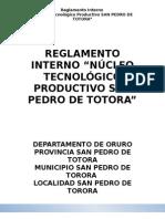 1.- Reglamento Interno Ntp San Pedro de Totora