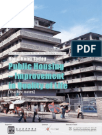 Public Housing - Improvement in Quality of Life