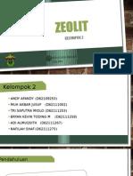 Zeolit (Kelompok 2)
