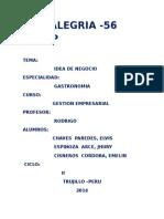 Analisis e Idea de Negocios Profe Rodrigo