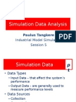 Sim 5. Simulation Data Analysis