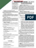 Ley Nº 28405, Ley de Rotulado de Productos Industriales Manufacturados