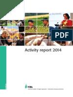 FIBL Activity report 2014.pdf
