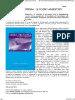 Terra Promessa - Il Sogno Argentino Degli Emigrati Marchigiani