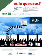 Afiche riesgos de sustancias Químicas