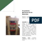 55770691 Propiedades Mecanicas de Los Materiales