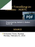 Better Travelling in Mumbai - MSRTC