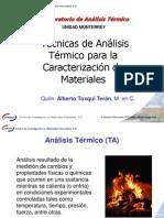 Técnicas de Análisis Térmico para la Caracterización de Materiales