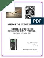 08 Metodo de Horner