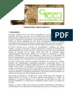 Convocatoria Fondo CLIMA
