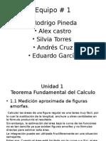 unidad 1 Teorema fundamental del calculo