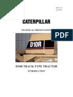 Componentes de maquina de oruga D10R