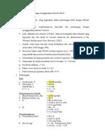 Contoh Perhitungan Dengan Menggunakan Metode Mock
