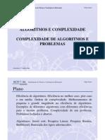 Aula2-Complexidade de Algoritmos e Problemas