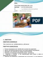 diapositiva organizacion empresarial