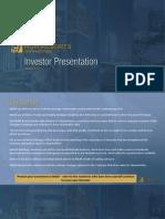 MGM Investor Presentations