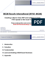 MGM REIT Presentation from Land & Buildings