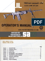 Galil ARM 7.62 mm IMI manual