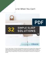 Sleep Solutions - Kopija