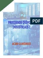 Ácido Clorídrico Produção industrial
