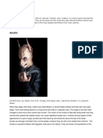 Wesen book of lore for d20 modern