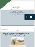 classroom content