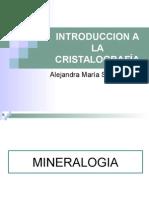 Introduccion a La Cristalografía