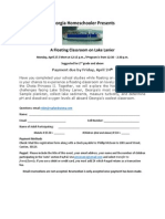 Apr 27 a Floating Classroom Experience