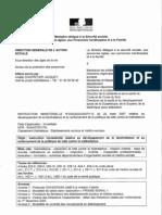 070322 - DGAS Instruction ministéreille concernant la bientraitance