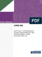 Aimb-280 User Manual Ed-1 Final