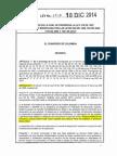 Ley 1738 de 18 de Diciembre de 2014