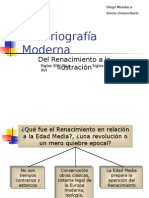 Historiografia Moderna (1)