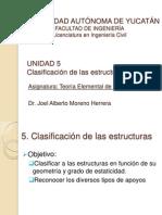 TEE-UNIDAD 5-Clasificación de Las Estructuras