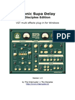 User Manual - Bionic Supa Delay 1 0