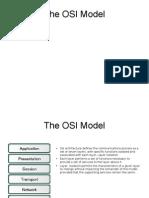 The OSI Modelo