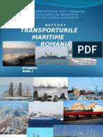 143251795-TRANSPORTURILE-MARITIME-IN-ROMANIA-ppt.ppt